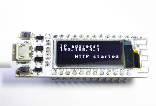 WIFI ESP8266 0.91 Inch Blue OLED Display WIFI Kit 32 IOT Development Board for Arduino