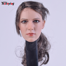 ZCtoys 1/6 Scale Accessoires Sniper JingJing Quiet Long Hair Version Head Sculpt Carving f 12 Inch PH HT toys Female Bodies Doll