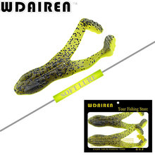 2Pcs Swimbaits Jig Soft Bait Head Fly Fishing 10.5cm 13g Frog Fishing Lure Soft Silicone Bait Plastic Flounder Lure Pasca Peche