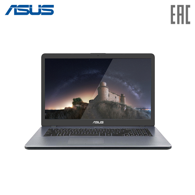 "Ноутбук Asus X705MA-BX096T 17.3"" HD / N4100 / 4Gb / 256Gb SSD / NoDVD / Wi-Fi / Win10 Star Gray (90NB0IF2-M01450)"