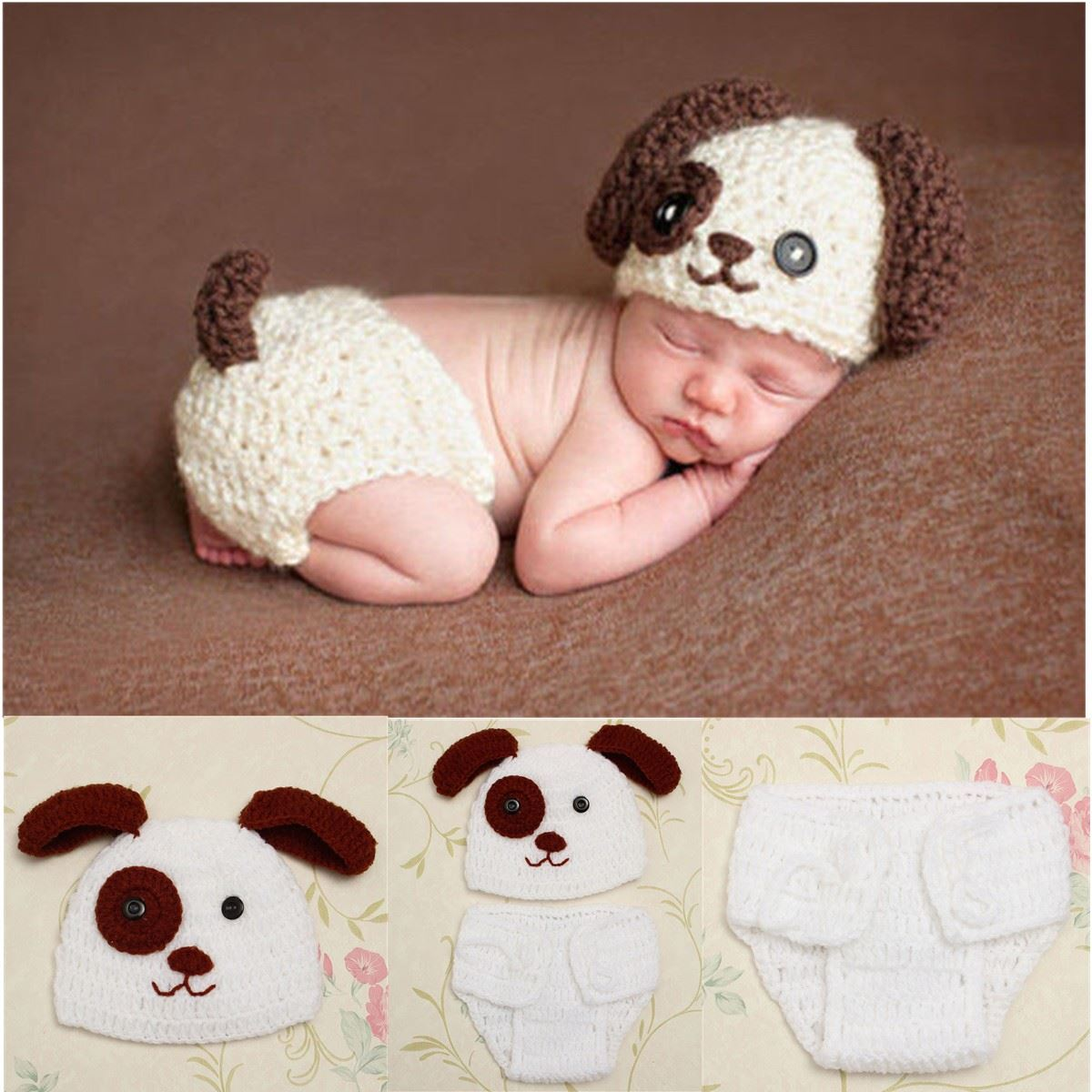 1 Set Baby Hat Pants New Born Photography Props Hats For Girls Boys Baby Knit Bonnet Toddler Cotton Wool Beanie Hat Accessories dhl ems 200 pcs double side prototype pcb tinned universal board 4x6 4 6cm j33