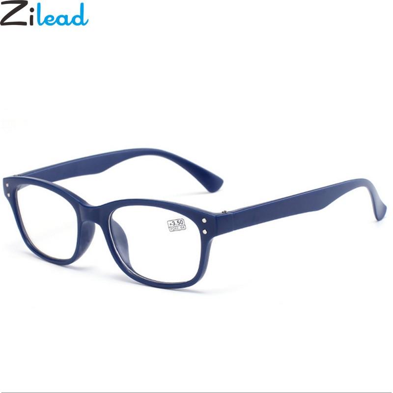 Zilead Soft Ultralight Resin Reading Glasses Women&Men Anti-fatigue Presbyopic Eyewear Degree +1.0 +1.5 +2.0 +2.5 +3.0+3.5+4.0