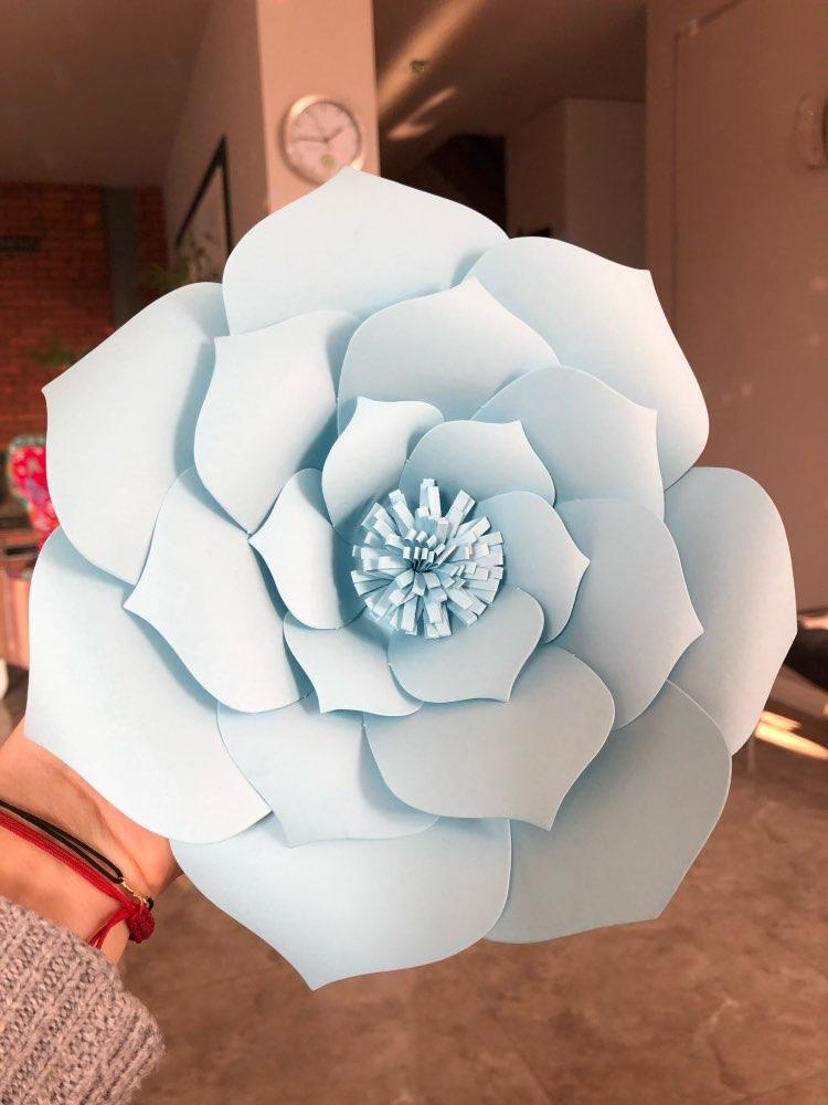 Paper Flower Unicorn Horn Ears photo review