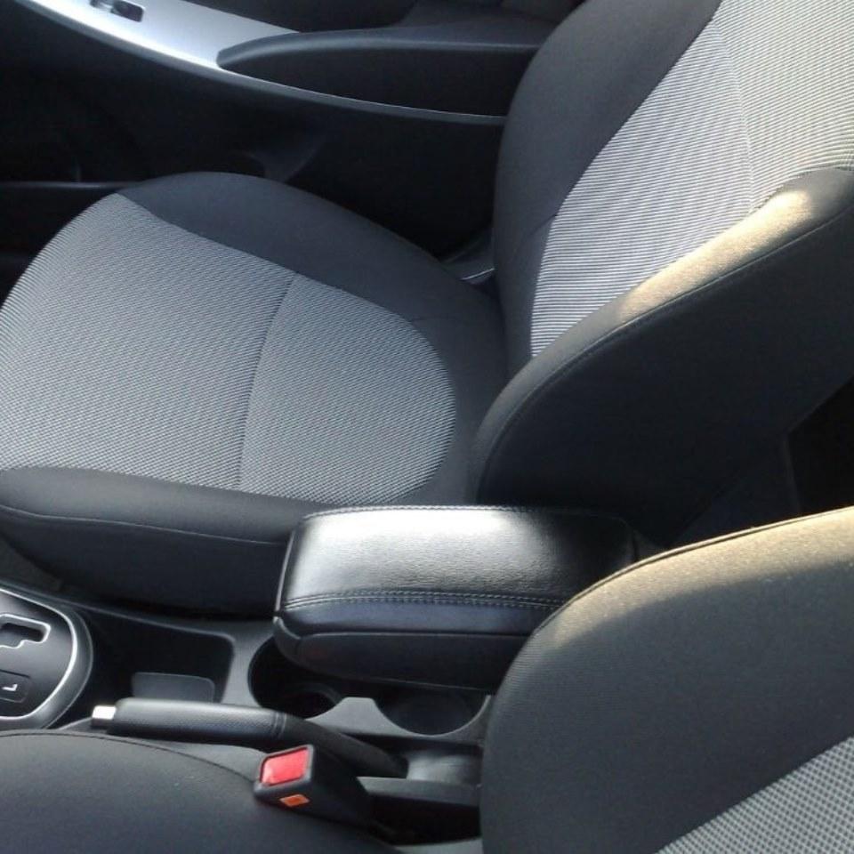 For Hyundai Solaris 2011-2016 insertable armrest with inner boxing PCHHYS9V for volkswagen polo sedan 2009 2019 armrest with inner boxing on staffing mount pcvwp9v
