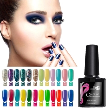 ФОТО 8ml 120 organic color nail gel varnish soak off hybrid gel polish uv led base top coat long lasting diy nail art set tip lacquer