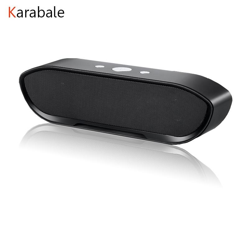 Karabale Bluetooth-Speaker Computer-Stereo Deep-Bass Portable Wireless Palyer Mp3 Line-In