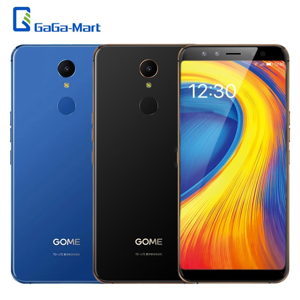 Original Gome U7 5 99 Mobile Phone Octa Core 13MP 4GB 64GB 3050mAh MTK6757CD Android 7