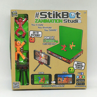 Stik Bot Screen Animation Toys Shed Dolls With Sucker DIY Creat Animation Film StikBot Toys Shed