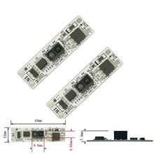 2Pcs Rigid LED Strip Light Non-Touch Hand Scan Switch Wardrobe Short Distance Scan Sensor Sweep for Cabinet Kitchen Mirror цены онлайн