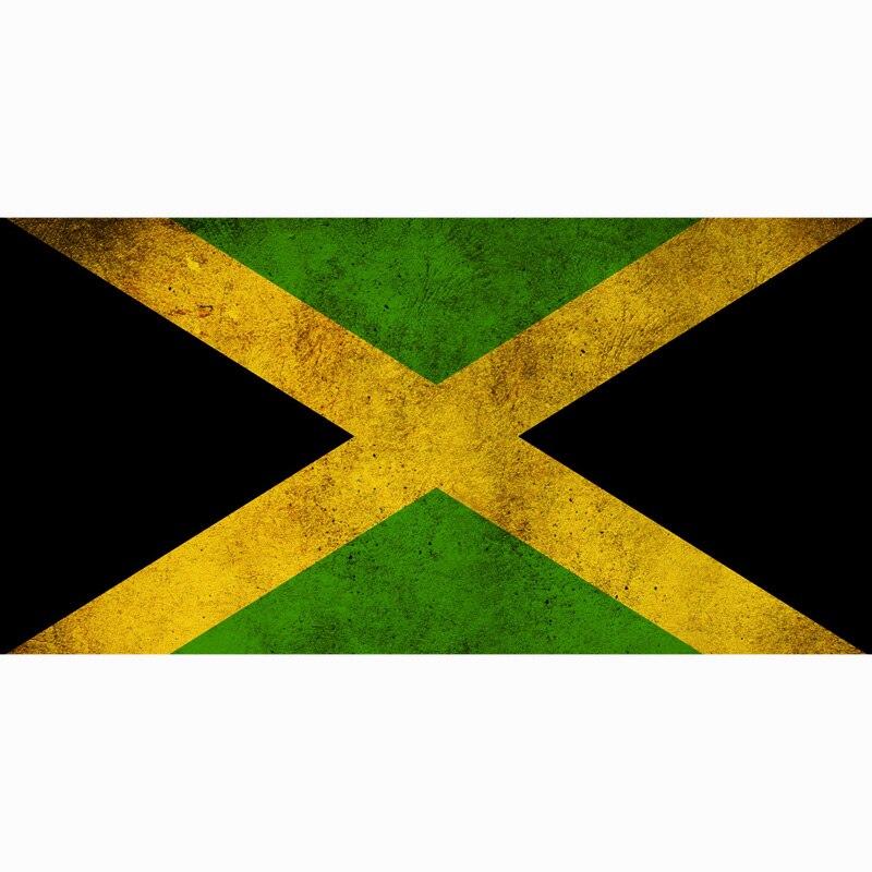 La jamaïque Drapeau Adulte Serviette De Bain Serviette Textile Grande Piscine Serviette D'été Serviette De Plage Personnalisé Enfants Couverture 70*140 cm