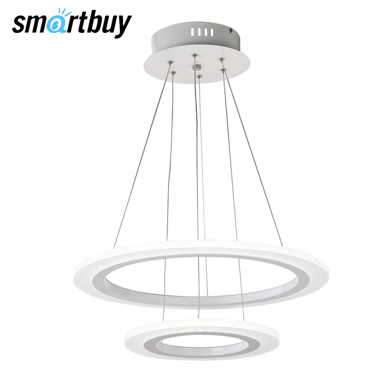 Chandelier SmartBuy 305, LED light, LED ceiling, 65 W, 4000 K/6000 K, SBL-СL-65W-305