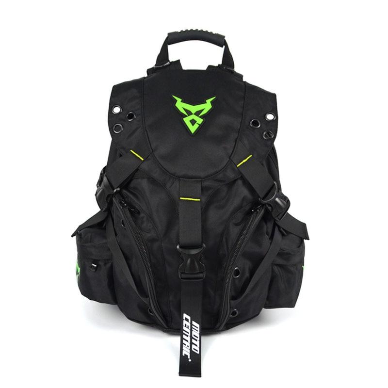 MOTOCENTRIC Motorcycle backpack bags Oxford cloth Helmet Storage backpack Waterproof Rid ...