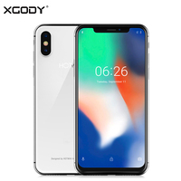 XGODY Hotwav Symbol X Smartphone 5.7 18:9 Notch Screen Android 8.1 Dual Sim Mobile Phone 2GB+16GB Face ID 3G Unlock Cell Phones
