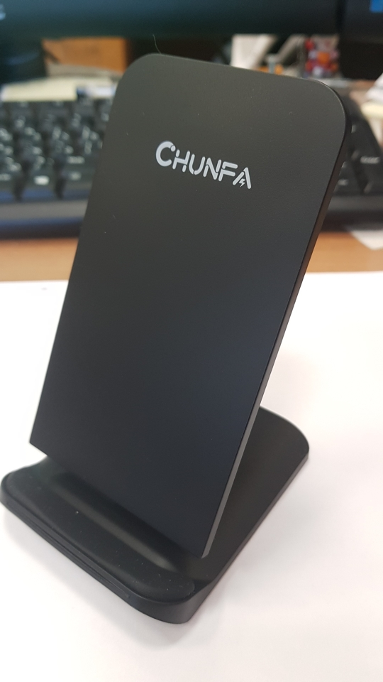 CHUNFA New Qi Wireless Charging for Samsung S8 S8 Plus S6 Edge Qi Wireless Charger for Samsung Galaxy S7 Edge Fast Charger Dock