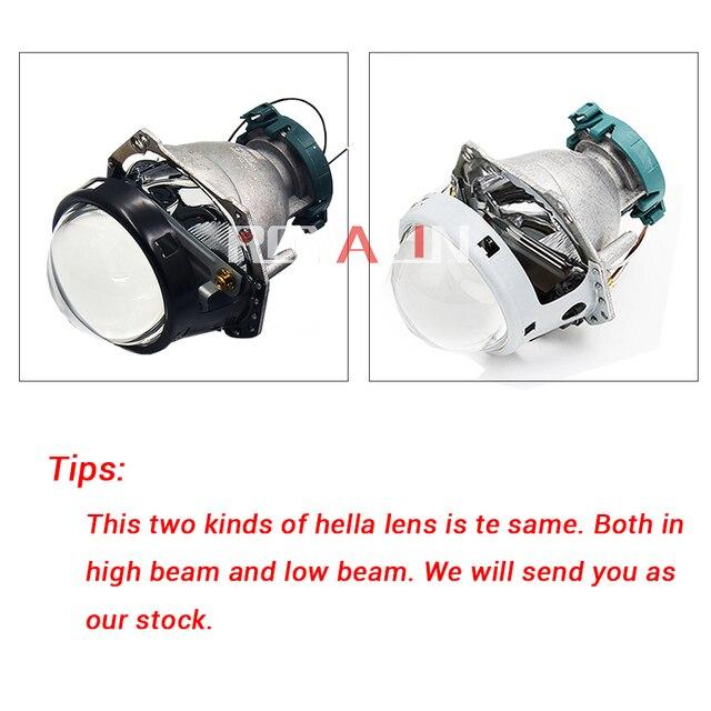 Royalin metal para hella 3r g5 bi xenon faróis lente d2s luzes do projetor lâmpada carro universal d1s d2h d3s d4s lâmpadas retrofit 4