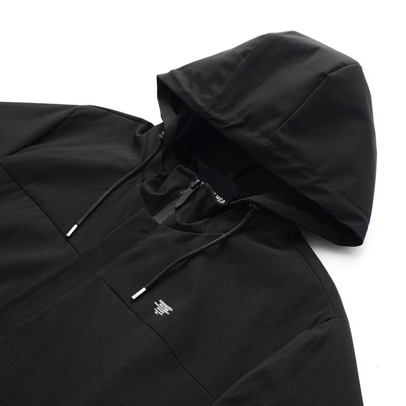 2018 6xl Plus vent Outwea Automne Green Printemps Mâle Vêtements 8xl 5xl La Taille black Camouflage Manteau De Veste À Coupe Hommes Casual Capuche 7xl 5jLq4R3A