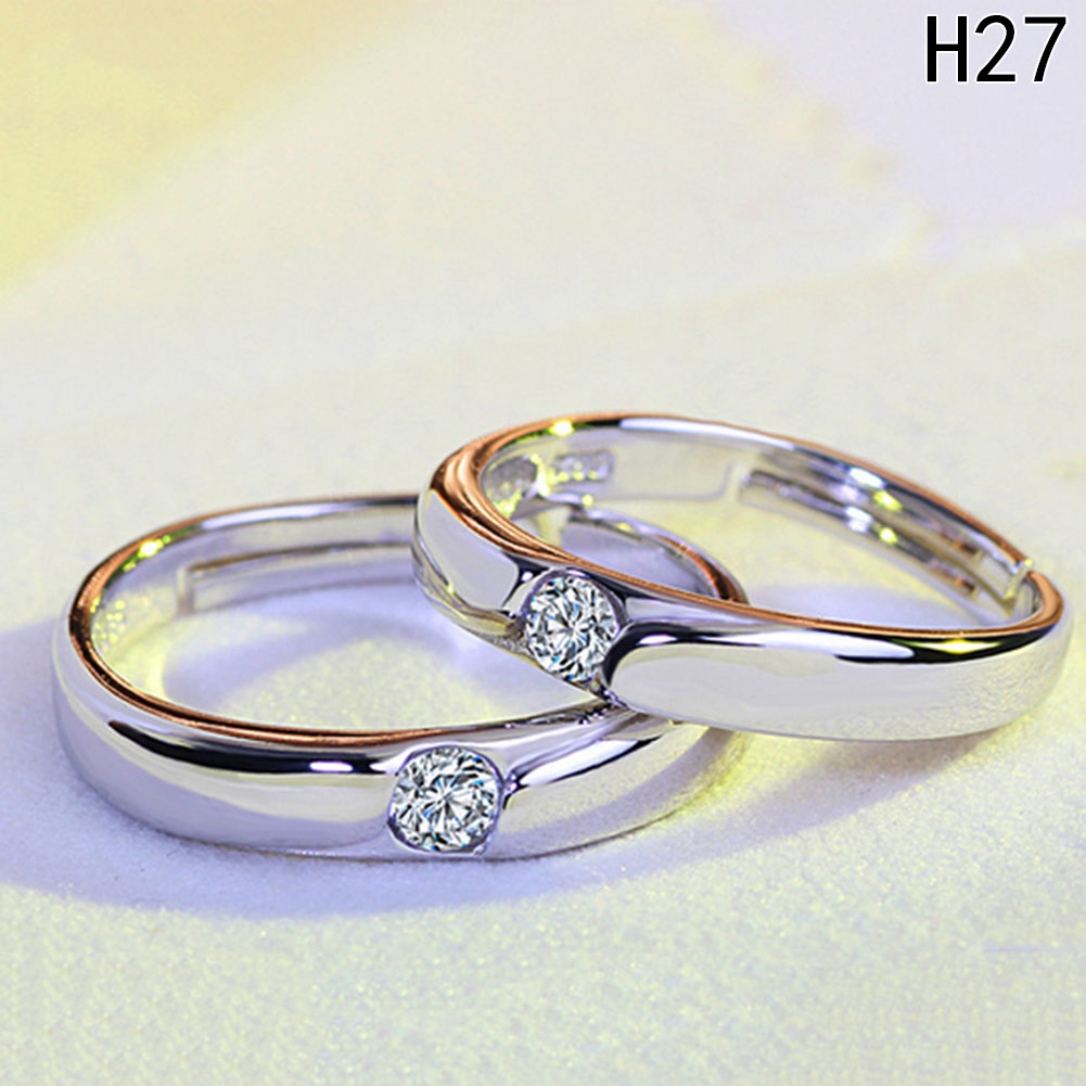 online shop fine resizeable lovers' ring wedding ring couple pair