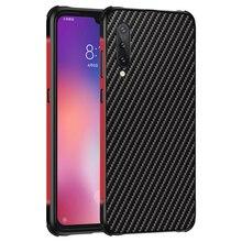 Conelz for Xiaomi Mi 9 Case Cover Aluminum Alloy Bumper Carbon Fiber TPU Protective Shell