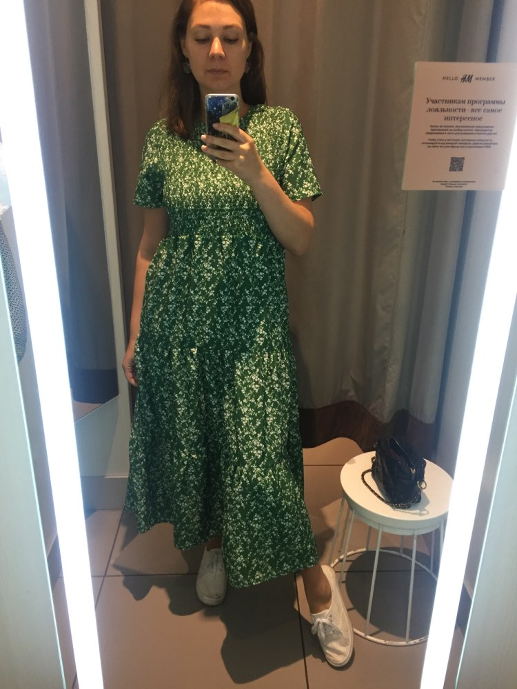 Efvandoloe Green Maxi Dress Long Floral Summer Dresses For Women Boho Clothes Jurken Robe Femme photo review