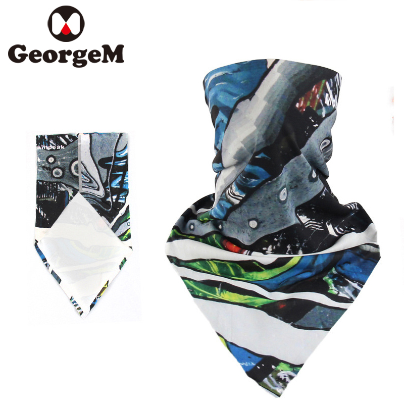 GEORGEM Cycling Scraf MTB Mountain Road Bike Face Mask Men Women Bicycle Motorcycle Bandanas Variety Turban Hood Bicycle Scarf