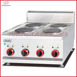 EH687 Электрический счетчик top 4 плитой для коммерческого использования