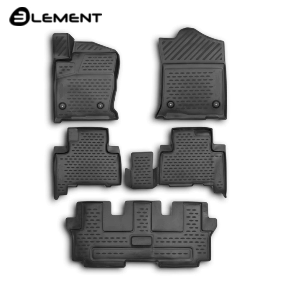 For Haval H9 2015-2019 3D floor mats into 7-seats saloon 5 pcs/set Element ELEMENT3D9903210k 5 10 pcs super fast 608 7 steel ball bearing for for hand spinner fidget spinners accessorie adult toy for kid