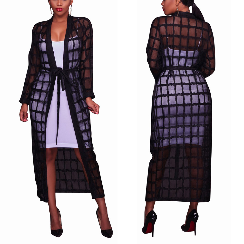 Womens Plaid Trench Coat Promotion-Shop for Promotional Womens ...
