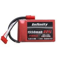 Oryginalny 14.8 V 1550 mAh 80C 4S RS SIŁY EDITION Baterii Lipo Akumulator SY60 Wtyczka Do Nieskończoności Grafenu Dla RC Zabawki