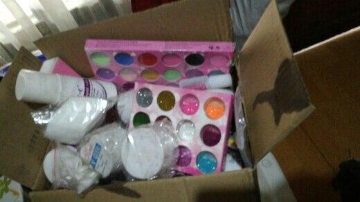 Conjuntos e kits secador glitter escova