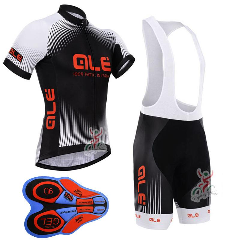 2018 Pro Team Cycling Jersey ALE Set Summer Racing Bike Jersey Sets Men Quick Dry Breathable MTB Bicycle Cycling Set Black scoyco motorcycle riding knee protector extreme sports knee pads bycle cycling bike racing tactal skate protective ear