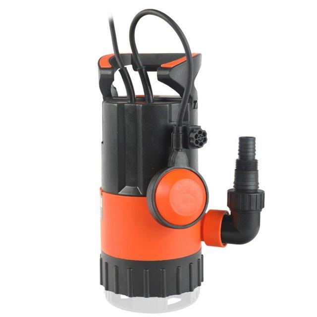 Насос погружной дренажный PATRIOT F 500 D (Мощность 500 Вт,Производительность 7500 л/час, пропуск частиц до 35 мм)