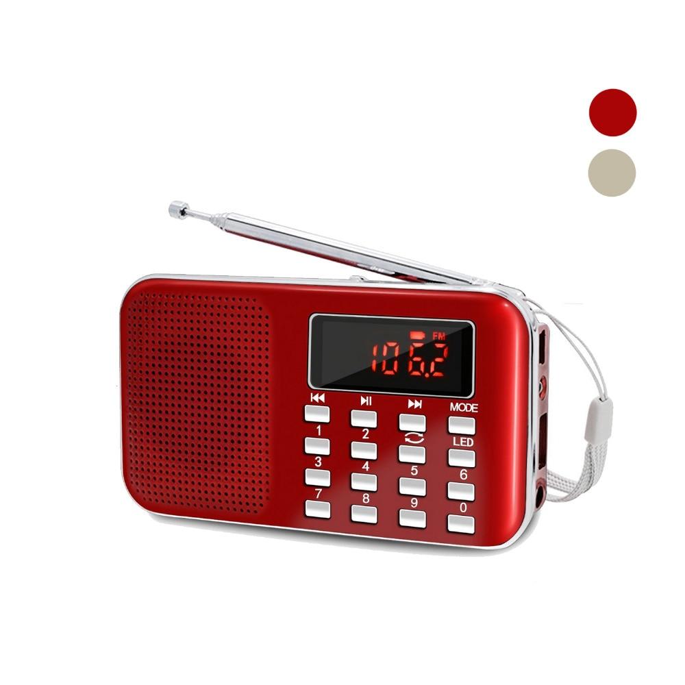 Radio Offen Am Fm Tragbare Transistor Radio Mp3 Musik-player Licht Und Ultradünne Unterstützung Micro Tf Karte Usb-licht Um Eine Hohe Bewunderung Zu Gewinnen Und Wird Im In Und Ausland Weithin Vertraut. Unterhaltungselektronik