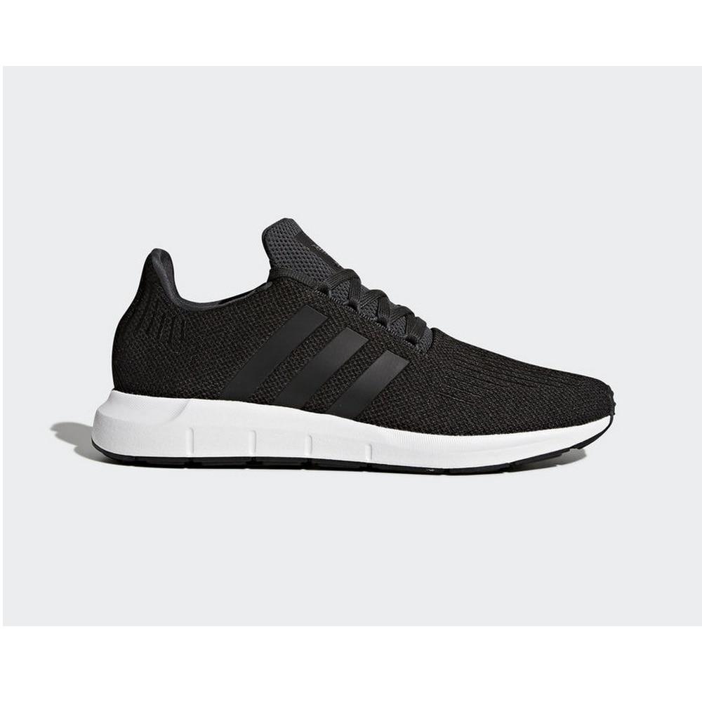 ADIDAS – baskets swift run pour homme, chaussures blanches et noires, CQ2114