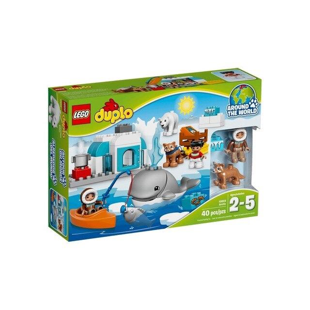 Конструктор LEGO DUPLO Вокруг света: Арктика 10803-L