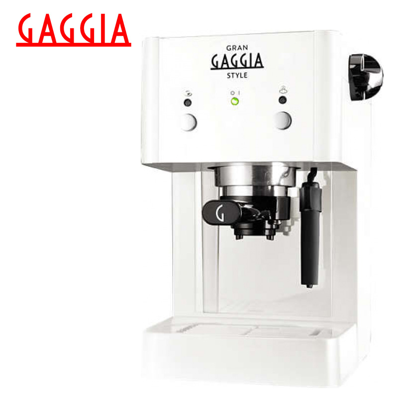 цены на Coffee Machine Gaggia Gran Style White в интернет-магазинах