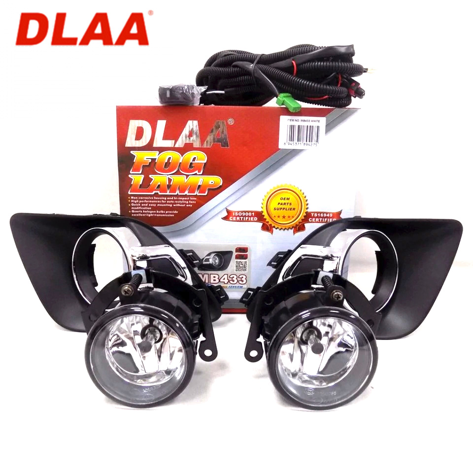 For Mitsubishi ASX 2011-2012 fog lights kit with wires and button DLAA MB433