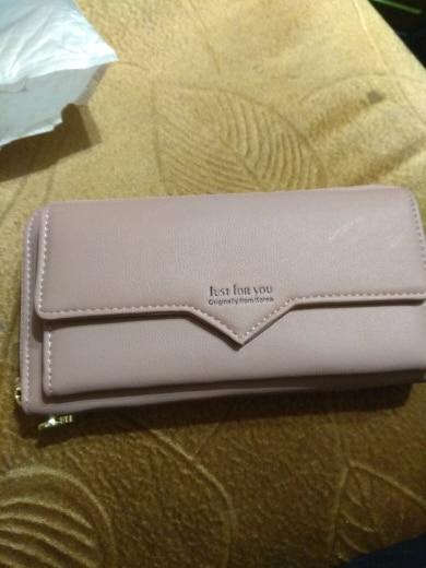 Women Wallets Women Purse Female Wallet Pu Leather Soft Long Wallets Chain Purse Large Capacity Luxury Brands Clutch Bags photo review