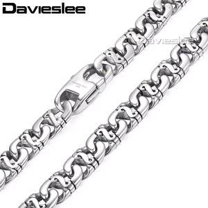 Davieslee Link Necklaces Chain for Men Jewelry