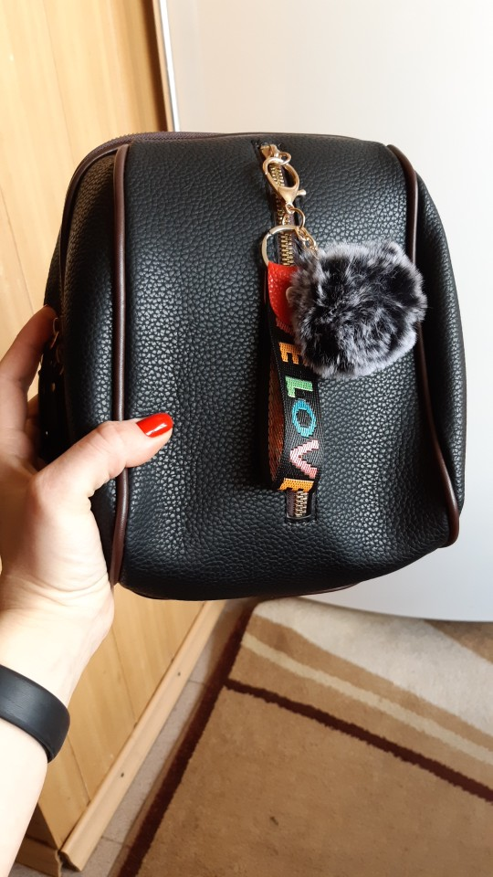 Small Female Backpack PU Leather Fashion Bags For Teenage Girls Vintage Pompom Shoulder Bag Women School Backpacks Female photo review