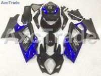 Motorcycle Fairings For Suzuki GSXR GSX-R 1000 GSXR1000 K7 2007 2008 07 08 ABS Plastic Injection Fairing Bodywork Kit Blue Black