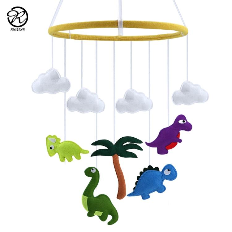 Jungle Animals Felt Mobile Cot Mobile Handmade Felt Baby Decoration