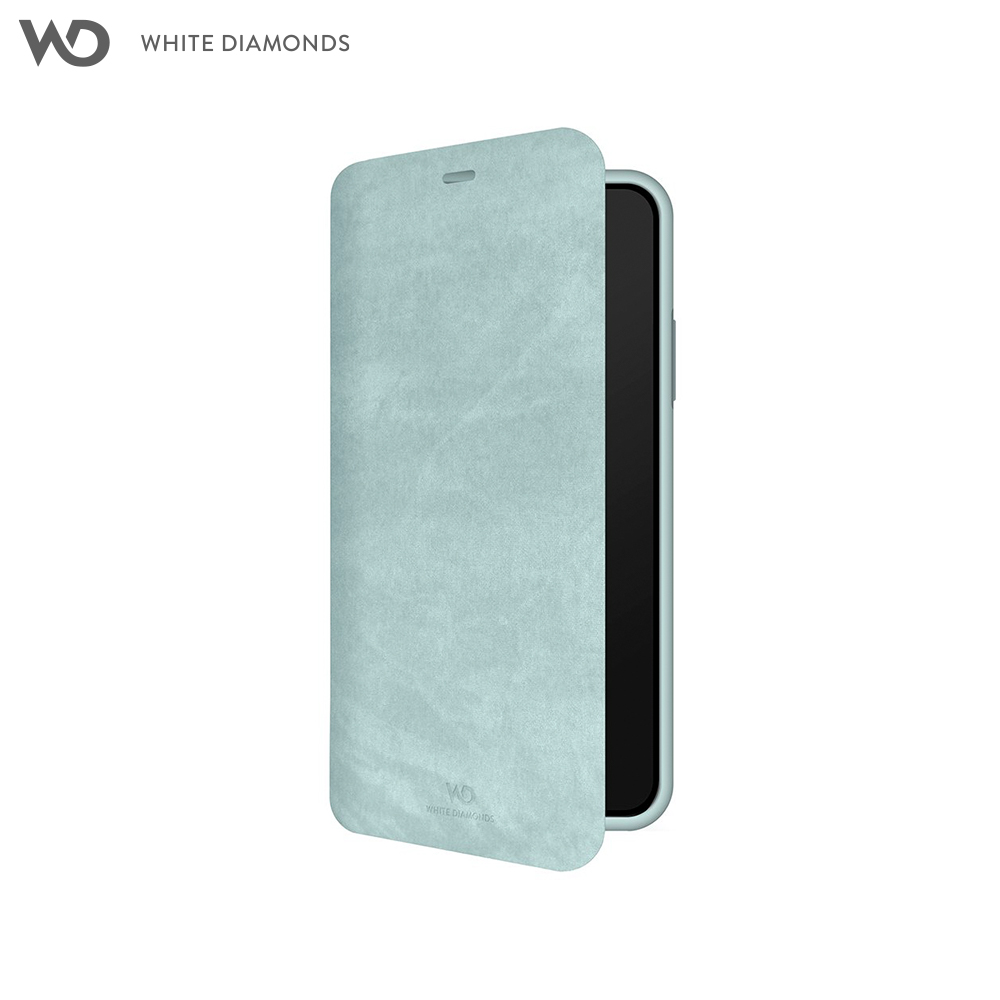 Case-Book White Diamonds Promise Booklet for iPhone XS color sky blue stylish flip open pu leather case w card slot holder for htc one max t6 sky blue