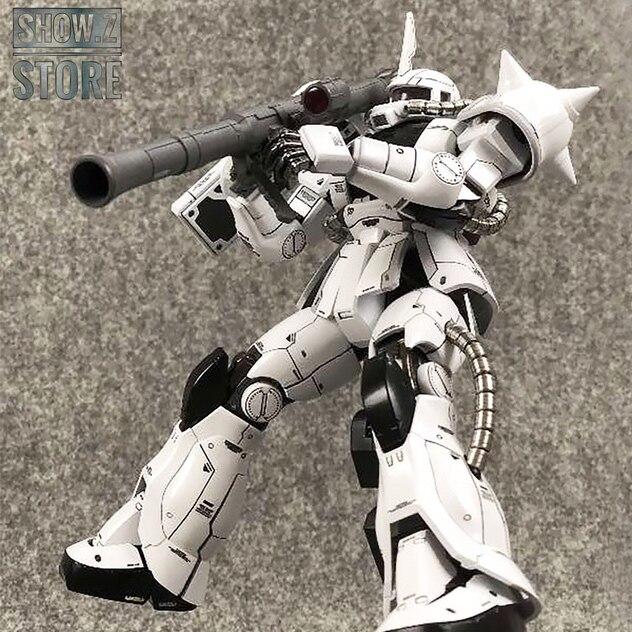 [Show.Z]Metal Soldier MS 1/100 MS 06J MS06J Zaku II White Ogre Gundam Mobile Suit Action Figure Model Kit