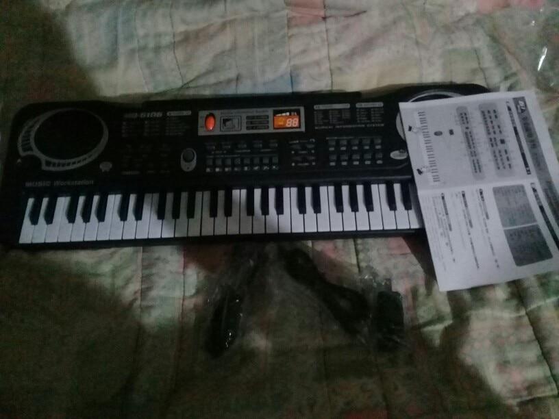 Órgão eletrônico Plugue Plugue Teclas