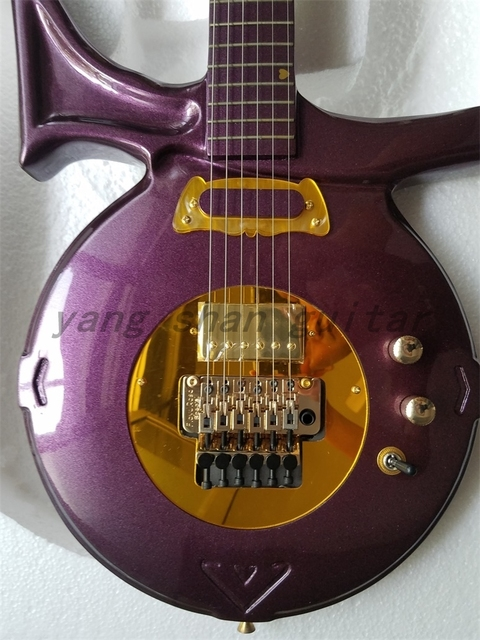 New Finished Directly Factory Prince Electric Guitar Love Symbol