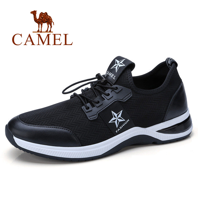 CAMEL Mens Casual Shoes Shock Absorption Soft Breathable Comfortable Sneakers Men Breathable Sport Shoes For Run Outdoors CAMEL Mens Casual Shoes Shock Absorption Soft Breathable Comfortable Sneakers Men Breathable Sport Shoes For Run Outdoors