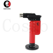 Guevara Single Flame Novelty Windproof Cigar Lighter Torch Retro Design Smoke Old Gasoline Lighters Vintage Metal 1128