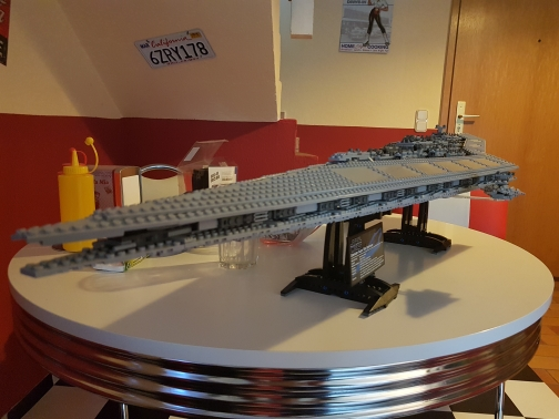 New LEPIN 05028 3208Pcs Toy Execytor Super Star Destroyer Model Building Kit Block Brick Compatible 10221 Boy Gifts WARS