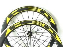 38 мм дороги углерода колеса велосипеда 700c довод колесная сплава площадь поверхности тормозов 50 мм колеса 700 Велосипедное колесо для дорожный мотоцикл