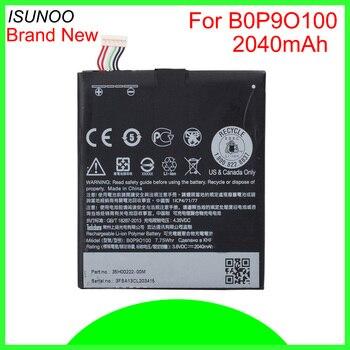 ISUNOO 10pcs/lot 2040mAh B0P9O100 Battery For HTC Desire 612 D610 D610n D610t 610 612 D610n D610t Replacement Battery